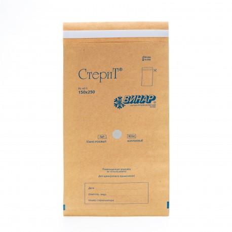 Пакеты из крафт-бумаги Винар 150*250, 100шт