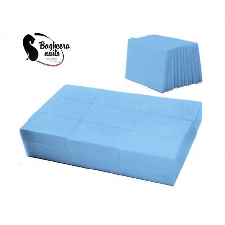 Безворсовые салфетки цветные голубые(878)