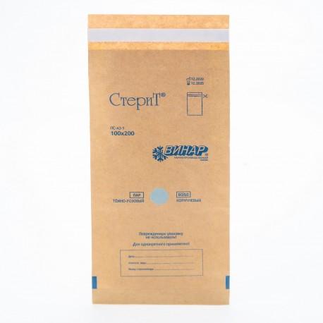 Пакеты из крафт-бумаги Винар 100*200, 100шт