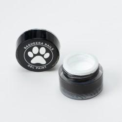 Гель-краска Белая Bagheera Nails BG 01, 5г