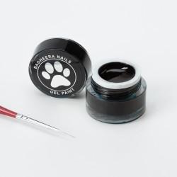 Гель-краска Чёрная Bagheera Nails BG 02, 5г