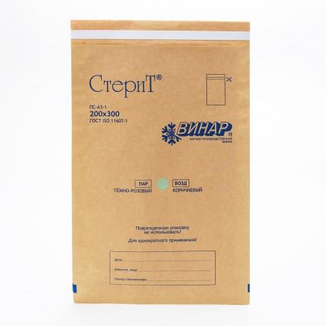 Пакеты из крафт-бумаги Винар 200*300, 100шт